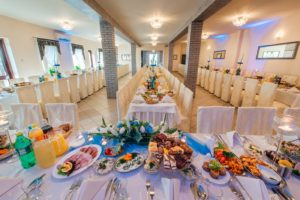 Śliczna sala weselna