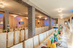 Miejsca dla gości weselnych